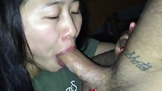 wife oral deepthroat blowjob amateur