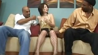 vagina threesome sucking shaved oral japanese interracial big-cock brunette