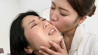 ass erotic exotic fetish japanese lesbian massage office funny
