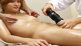 ass cute handjob japanese ladyboy massage oil vibrator