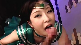 cosplay hardcore japanese playing sucking