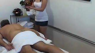 ass sucking massage little jerking handjob