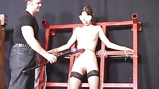 spanking stocking vibrator licking fuck fingering big-tits bdsm small-tits