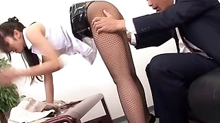 cumshot fuck hot japanese milf office