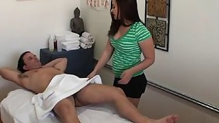 massage jerking handjob big-cock babe ass