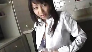 babe japanese milf threesome