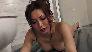 ass babe big-tits japanese massage tease wet