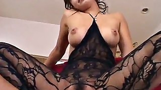 japanese lingerie milf model vagina wet